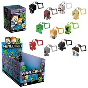 Minecraft Bobble Mobs Blind-Box Key Chain Random 3-Pack