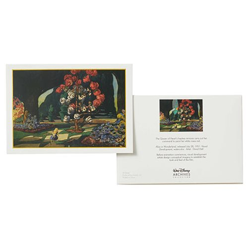 Walt Disney Archives Collection Alice in Wonderland Notecard Set