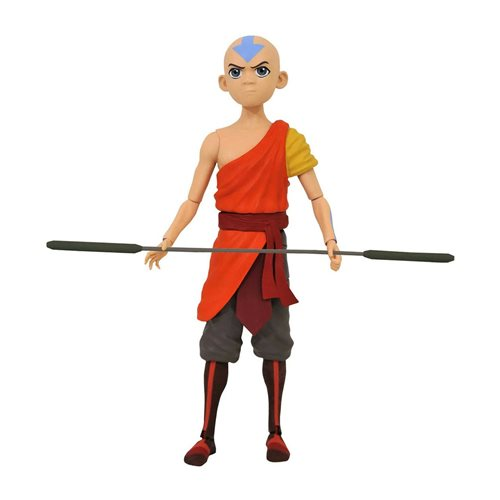 Avatar: The Last Airbender Series 1 Aang Action Figure