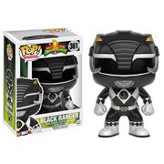 Mighty Morphin' Power Rangers Black Ranger Pop! Vinyl Figure