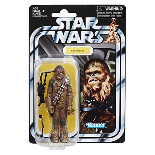 Action Figure 3 3//4 inch Star Wars Chewbacca The Retro Collection