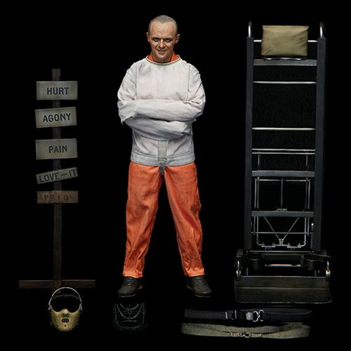 Silence of the Lambs Hannibal Lecter Straightjacket 1:6 Scale Action Figure