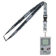 Nintendo Gameboy Lanyard with Rubber ID Holder