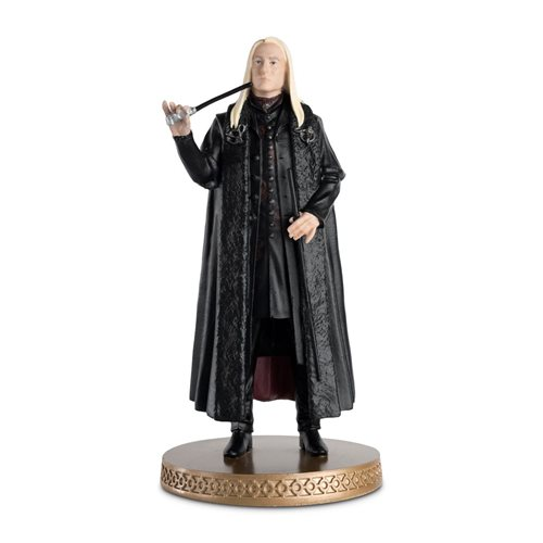 Harry Potter Wizarding World Collection Lucius Malfoy Figure with Collector Magazine