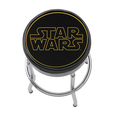 Star Wars Logo Garage Stool