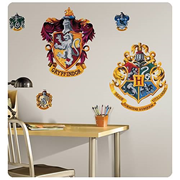 Harry Potter Peel & Stick Hogwarts Crest Giant Wall Applique