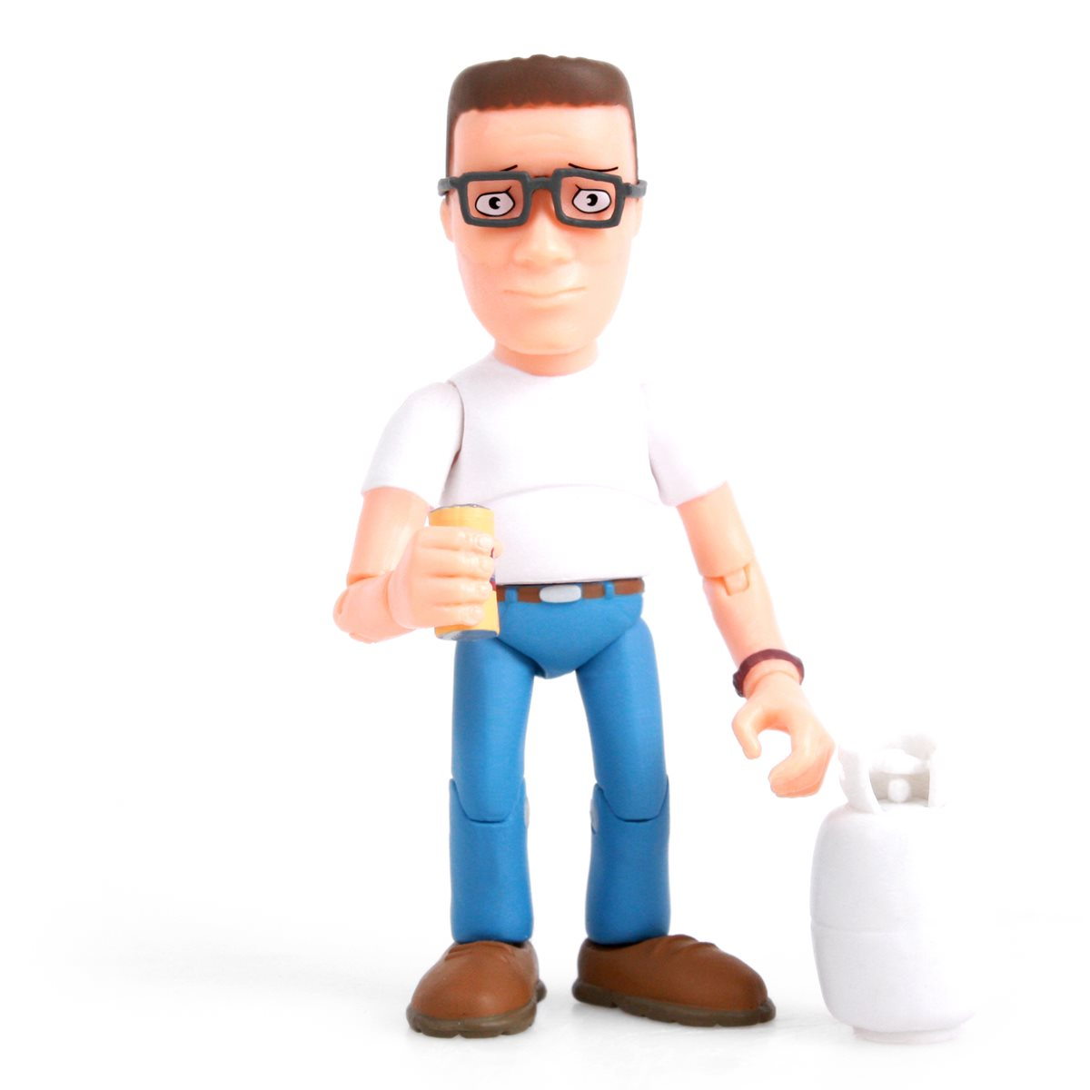 Fox Animation King of the Hill Hank Hill Action Vinyl Figure