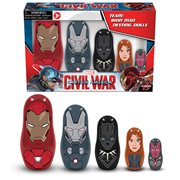 Captain America Civil War Iron Man Nesting Dolls, Not Mint
