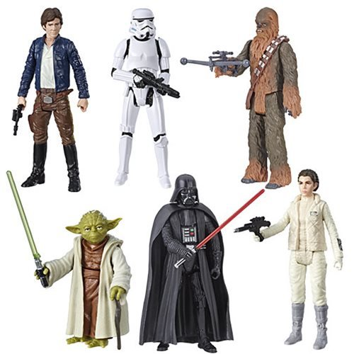 Star Wars Galaxy of Adventure Action Figures Wave 2 Case