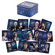Doctor Who Coaster Set with Tin Storage Box