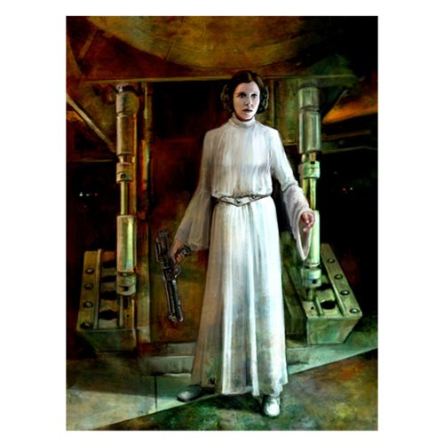 Star Wars Somebody Has to Save Our Skins by Cliff Cramp Large Canvas Giclee Art Print