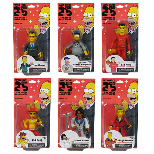 The Simpsons Series 1 Limited Edition Action Figure Case