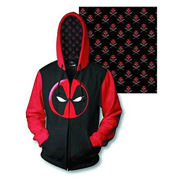 Deadpool Logo Previews Exclusive Zip-Up Hoodie