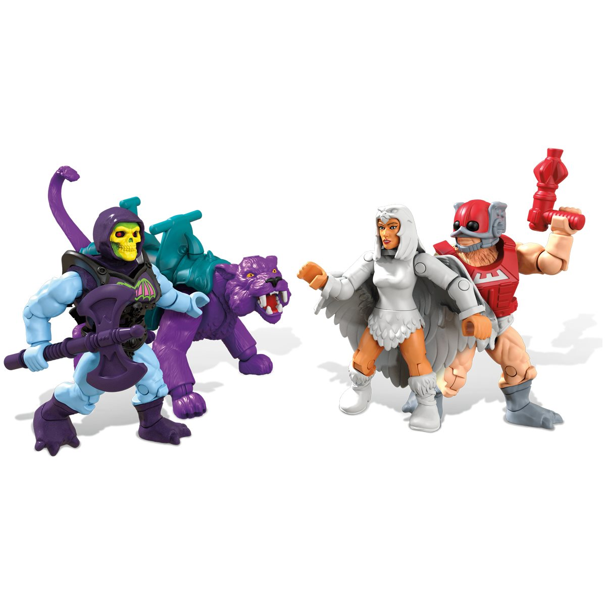 Mega Construx He-man Masters Of The Universe Panthor At Point Dread Brand New
