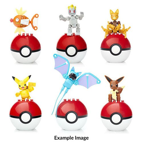 Mega Construx Pokemon Poke Ball Series 4 Case