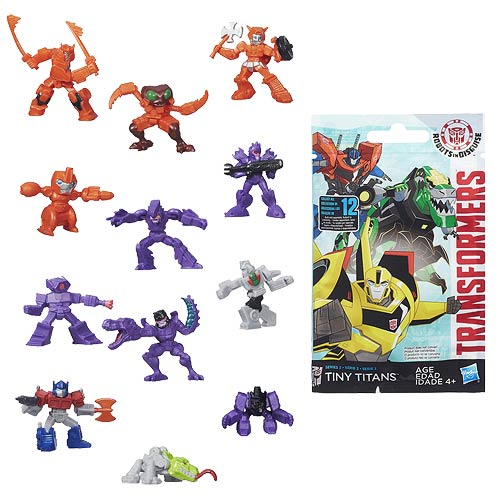 Transformers Robots in Disguise Tiny Titans Wave 3 Case