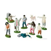 Glow in the Dark Flesh Eating Zombies PlaySet