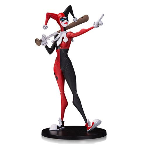 DC Comics Artist Alley Harley Quinn by Hainanu Nooligan Saulque Limited Edition Statue