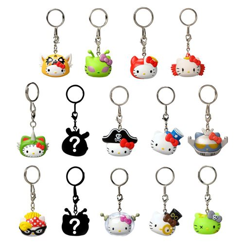 Hello Kitty Time to Shine Vinyl Keychain Random 4-Pack