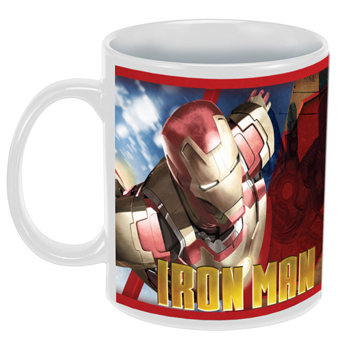 Iron Man 3 Movie 12 oz. Ceramic Mug