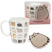 Pusheen the Cat Kitties Mug and Coaster Set