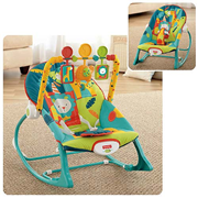 Infant-to-Toddler Blue Rocker