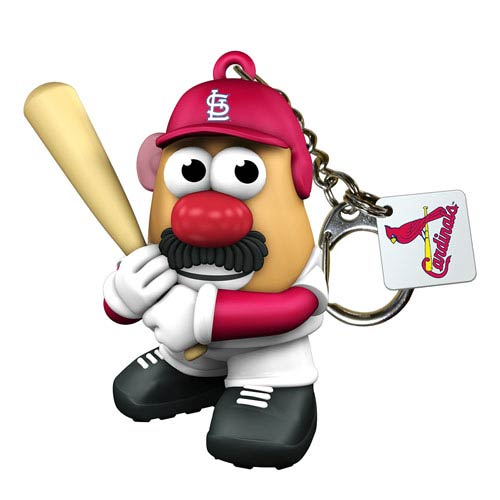 MLB St. Louis Cardinals Mr. Potato Head Key Chain