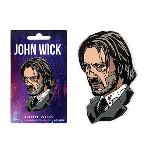 John Wick Luxury Enamel Pin