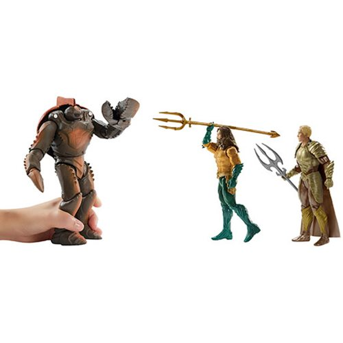 Aquaman Movie 6-Inch Action Figure 3-Pack