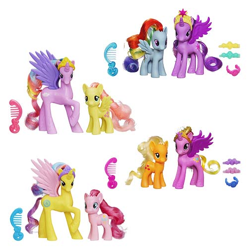 My Little Pony Princess Packs Wave 4 Set