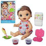 Baby Alive Super Snacks Snackin Lily Doll Brunette, Not Mint