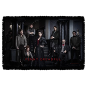Penny Dreadful Stair Cast Woven Tapestry Throw Blanket
