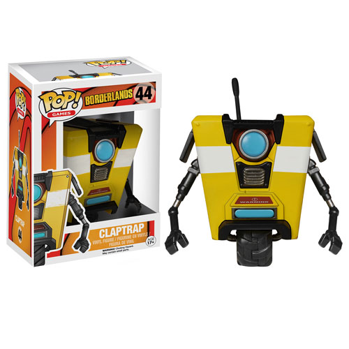 Borderlands Clap Trap Pop! Vinyl Figure, Not Mint