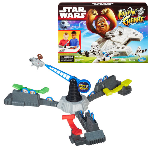 Star Wars The Force Awakens Looping Chewie Game, Not Mint