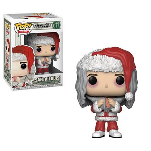 Trading Places Santa Louis with Salmon Pop! Vinyl Figure #677