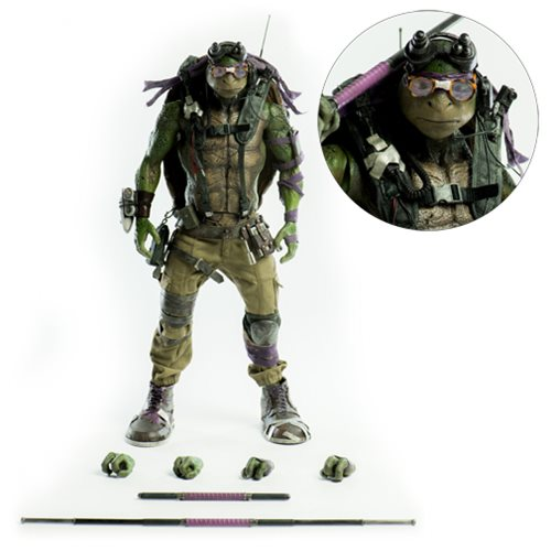 Teenage Mutant Ninja Turtles: Out of the Shadows Donatello 1:6 Scale Action Figure
