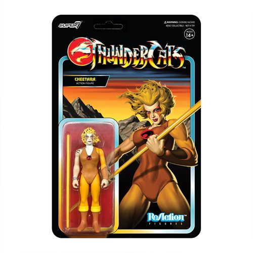 ThunderCats Cheetara 3 3/4-Inch ReAction Figure