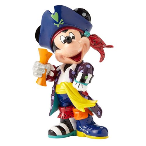 Disney Mickey Mouse Pirate Statue by Romero Britto