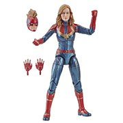 Captain Marvel Marvel Legends Series Captain Marvel (Movie) 6-Inch Action Figure