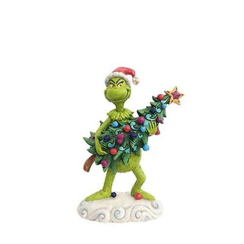 Dr. Seuss The Grinch Grinch Stealing Tree Statue by Jim Shore