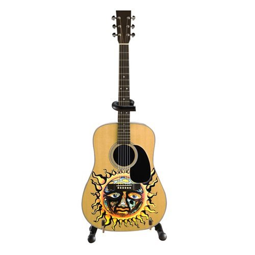 Sublime Large Sun Logo Miniature Guitar Replica