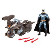 Justice League Movie Batman and Batcycle Set