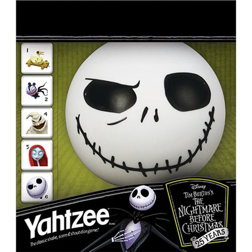 Nightmare Before Christmas 25 Years Yahtzee