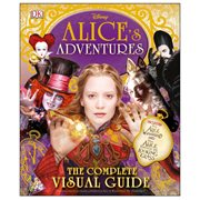 Disney Alice's Adventures The Complete Visual Guide Hardcover Book