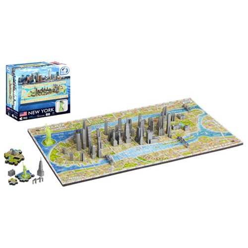 New York USA Mini 4D Puzzle