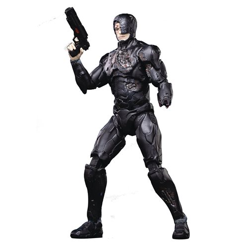 RoboCop 2014 Battle Damaged 1:18 Scale Action Figure - Previews Exclusive