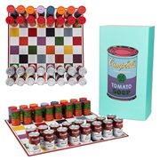 Andy Warhol Soup Can Chess Set