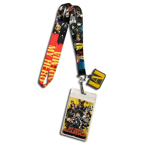 My Hero Academia Line-Up Lanyard