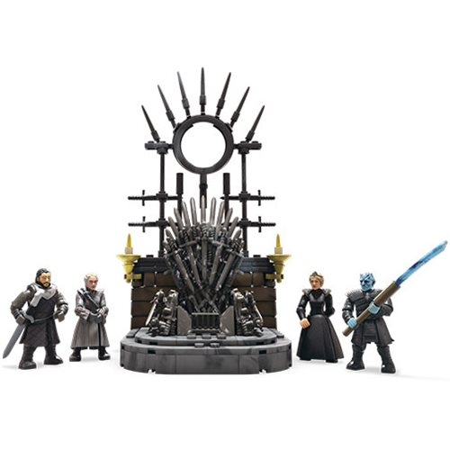 Game of Throne Mega Construx The Iron Throne Playset