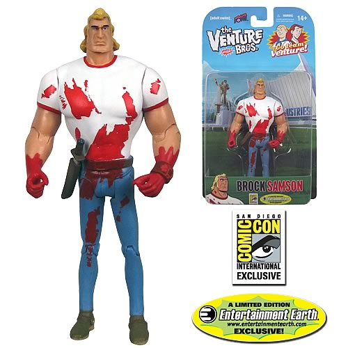 The Venture Bros. Brock Samson (Bloody) 3 3/4-Inch - SDCC Figure